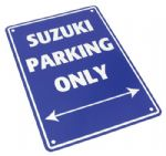 Parking Sign - Suzuki Parking Only